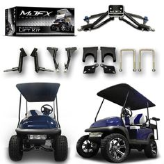 Madjax Golf Cart Poster on