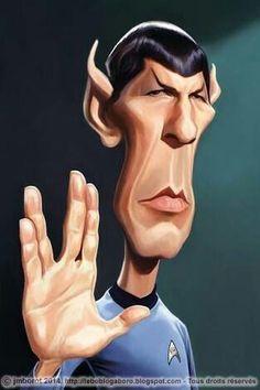 "Spock ""Star Wars"""