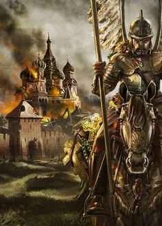 pixels polish hussar in Moscow - the only army in the world on moscow Cremlin! Military Art, Military History, Polish Tattoos, Viking Warrior, We Are The World, Knights Templar, Medieval, Fiction, Creatures