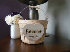 Hey, I found this really awesome Etsy listing at https://www.etsy.com/listing/205298996/favors-wedding-basket-favors-bridal