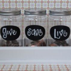 Great change jar idea! We should all make an effort to do this!