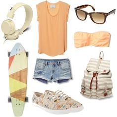 California, created by kmfiz on Polyvore
