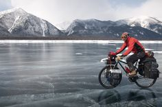 Circumnavigating Lake Baikal. Eddie Bauer Be First. #adventure | Shared from http://hikebike.net