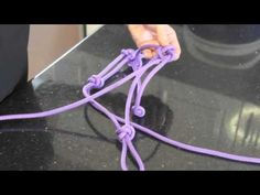 How to make a rope halter for a horse or donkey. Easy step by step instructions. Free tutorial. - YouTube