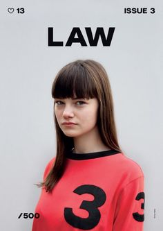 LAW #design #magazine #cover
