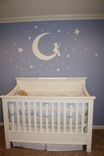 Jace's Moon and Stars Nursery
