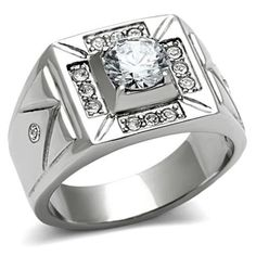 Southwest Inspired Stainless Steel Men's AAA Grade CZ Wedding Band Ring - Size 8 Doublebeez Jewelry http://www.amazon.com/dp/B00F2IXBTM/ref=cm_sw_r_pi_dp_MUvOub0PHSXY9
