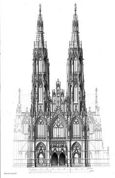 Design for the Votivkirche, Vienna