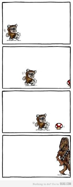 Star Wars + Mario