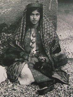 traditional costume of kastelorizo, smallest island of the (Greek) Dodecanese islands