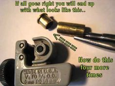Cutting, Cleaning, and Polishing Bullet Slices for Bullet Jewelry (10 Step Process) - YouTube