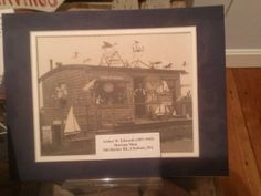 """2014 digital photo of: Photo of the """"Shavings Shop"""" wood shop on Old Harbor Road of Arthur E. Edwards, the inspiration for the main character in Joseph C."""