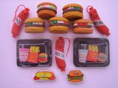 fast food erasers by iron lace, via Flickr