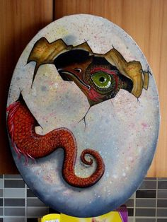 dragon hatching by *barbelith2000ad on deviantART