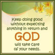 God will be the PERFECT ONE who will bring back our blessings