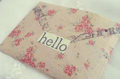 ✉ Little Postal Travels--- ✈: Floral, Postal, Washi Tape: More Love Letters, Mail Art Envelopes, Diy Wedding On A Budget, Handwritten Letters, Paper Packaging, Happy Mail, Letter Writing, Snail Mail, Washi Tape