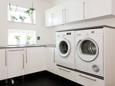 planera tvättstuga - Sök på Google Laundry Decor, Laundry Hacks, Laundry Room Design, Interior Design Living Room, Living Room Designs, Living Room Decor, Bathroom Spa, Laundry In Bathroom, Room Additions