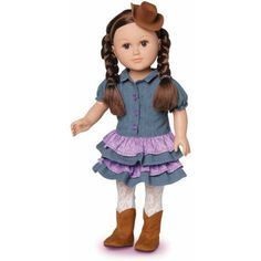 "My Life As 18"" Cowgirl Doll - Walmart.com"