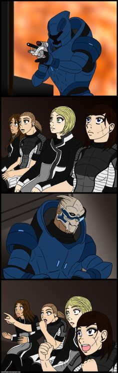 Reaction Shepards by AirieFeristo.deviantart.com on @deviantART Oh my god I love this SO much.