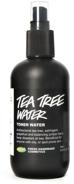 lush tea tree water is a saving grace for anyone suffering from oily and/or spotty skin