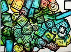 Gone are those days when doodling was only for the kids, today doodle is the way to silent entertainment.This method is easy-to-learn, relaxing, and fun way to create beautiful images by drawing structured patterns – straight lines, curves, and dots. The final color background will give more value to the drawing. Cool Optical Illusions, Straight Lines, Geometric Lines, Line Patterns, Beautiful Images, City Photo, Curves, Doodles, Dots