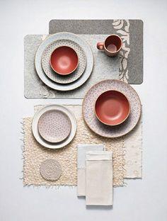 tisch skandinavisch Alabama Chanin collaboration with Heath Ceramics. Deco Pastel, Heath Ceramics, Diy Décoration, Deco Design, Design Art, Art Of Living, Home Interior, Interior Design, Ceramic Pottery