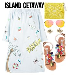 """""""summer"""" by ecem1 ❤ liked on Polyvore featuring Mira Mikati, Steve Madden, Sole Society, Topshop and Aéropostale"""