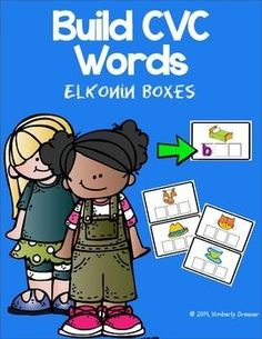 FREE- Elkonin boxes are useful in helping your students build phonemic awareness. Common core standards.   Print on cardstock and laminate for a durable word work activity for years to come. All pages are ink-friendly and use colorful, kid-friendly artwork.