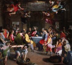 Federico Barocci, 'Last Supper', 1590-99.Oil on canvas, 298 x 318 cm. Chapel of the Santissimo Sacramento, Cathedral, Urbino.Photo © Scala, Florence - courtesy of Ufficio Beni Culturali Diocesi di Urbino.