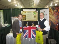 Co-founders Chris Smith (left) and Robby Willey, dressed as businessmen (rather than brewerers), at their first Craft Brewers Conference in San Diego, CA in 2012. #CBC12 #craftbeer