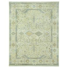Capel Rugs Biltmore Heritage-Shiraz Nickel Hand Knotted Wool Rug #laylagrayce