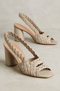Shop unique high heels from Anthropologie for your essential pumps, kitten heels and more. Shoes Heels Wedges, Shoes Sandals, Cute Shoes, Me Too Shoes, Kitten Heel Pumps, Kinds Of Shoes, Sandro, Beautiful Shoes, Girls Shoes