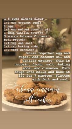 Arbonne Protein, Arbonne Nutrition, Cinnamon Roll Cookies, Cinnamon Rolls, Arbonne Shake Recipes, Arbonne Cleanse, Healthy Protein Snacks, Healthy Treats, Healthy Living Recipes