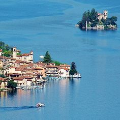 Lago d'Iseo, Franciacorta, Italy. #BerlucchiMood Lake Iseo borders the Franciacorta area and its vineyards. The little island the middle of the lake, called Monte Isola, can easily be reached by boat within fifteen minutes.