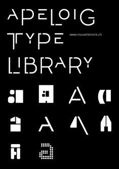"""Résultat de recherche d'images pour """"philippe apeloig typographie"""""""