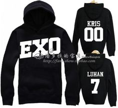 Find More Information about Exo sbs kris d . o . tao baek hyun pullover sweatshirt,High Quality pullover shirt,China sweatshirt xxl Suppliers, Cheap pullover women from shaoning zhao's store on Aliexpress.com