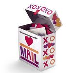 I've made so many Valentine's boxes but this one may be the last, tooo cute!!