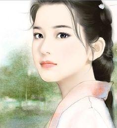 中国美人画 古香. 古韵