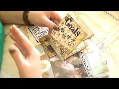 JUNK JOURNAL/DIARY INSPIRED BY LIMOR WEBER, TANGIE BAXTER AND BCDOULA - YouTube