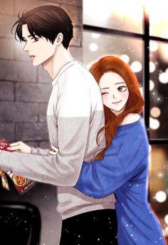 Manga Couple Anime love bird – Animefang - Visit the post for more. Cute Couple Drawings, Anime Couples Drawings, Cute Couple Art, Anime Couples Manga, Cute Anime Couples, Love Cartoon Couple, Cute Love Cartoons, Manga Couple, Anime Love Couple