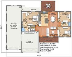 35 Best Barndominium or RV port house images   House floor ...
