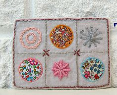 Textile Artist Trading Cards