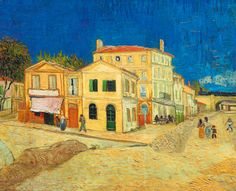 Vincent van Gogh-La casa gialla