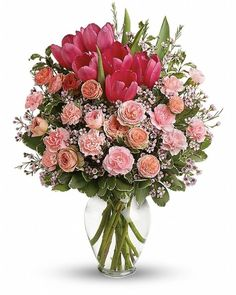 Full Of Love Bouquet - Send Flowers to Calgary