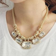 Beaded Bold Necklace