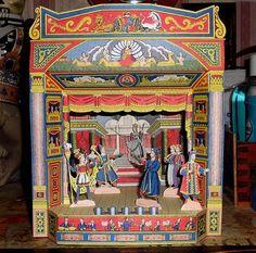 PAPERMAU: Vintage Britania Paper Theater - by Agence Eureka - Teatro De Papel