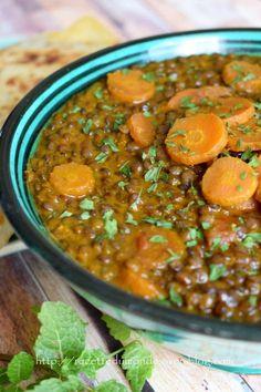 The - [Lardess] Moroccan Lentils - .- – [Lardess] Lentilles à la Marocaine – …recette du monde… L & # – [Lardess] Moroccan Lentils – … recipe from the world … - Lentil Recipes, Soup Recipes, Vegetarian Recipes, Dinner Recipes, Healthy Recipes, Easy Cooking, Cooking Recipes, Frijoles, Clean Eating Recipes