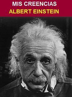 DESCARGAR LIBRO MIS CREENCIAS DE ALBERT EINSTEIN ~ libros