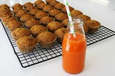 The Pretty Baker Blog - Carrot Cupcakes