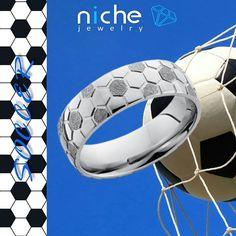 Cobalt Chrome 7mm Domed Band. Like it, buy it. Contact me for details. #utahwedding #utahweddings #utah #utahisrad #utahvalleybride #custommaderings #customjewelry #engagement #engagementrings #engagementring #engagements #madeinusa #soccer #soccergirl #fifa #goal